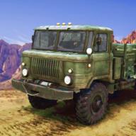 硬核越野军用卡车