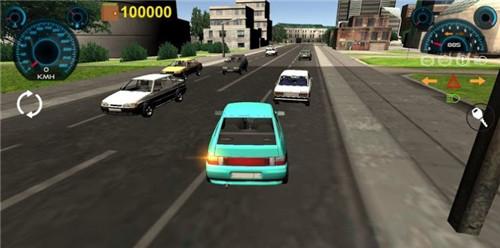 俄罗斯飙车模拟器3D截图2