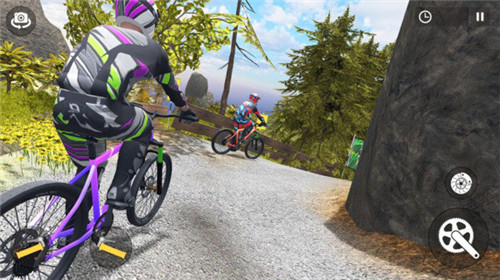 山地自行车下坡赛截图2