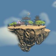 漂浮的小岛游戏