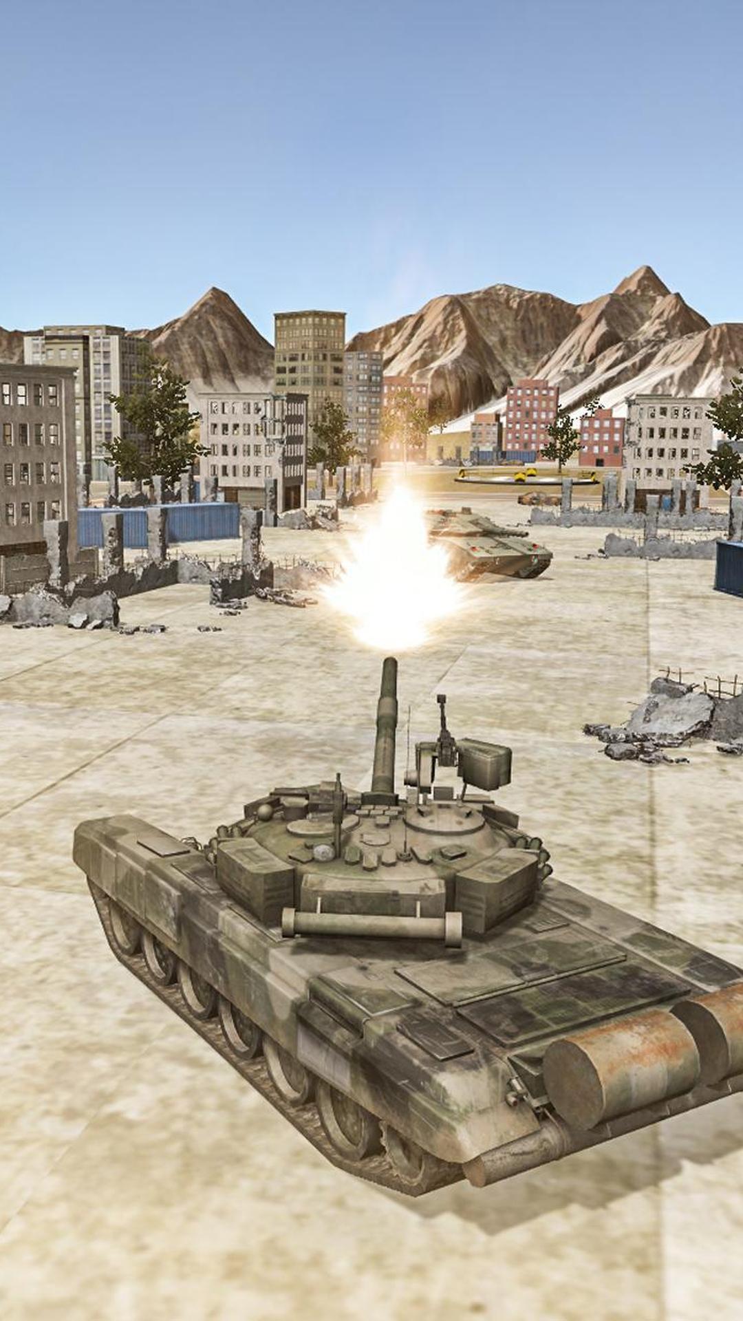 坦克城市大战截图2