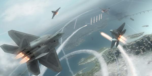 画面感非常真实的空战游戏