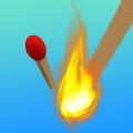 燃烧火柴塔