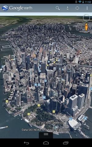谷歌地球正版截图3