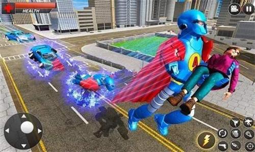 飞行英雄城市战斗截图1