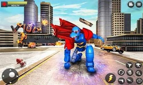 飞行英雄城市战斗截图2