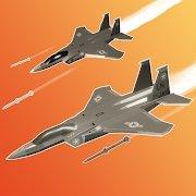 军用飞机空袭