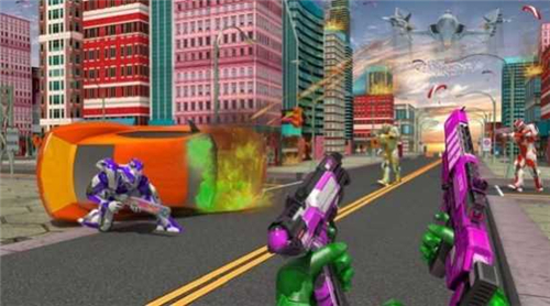 机器人城市乱斗截图3