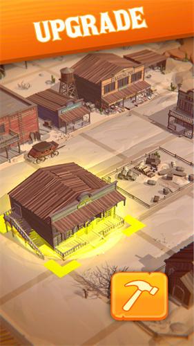 3D闲置狂野西部截图2