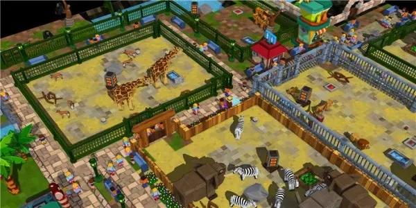 模拟经营动物园