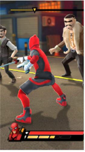 超级武士英雄截图3