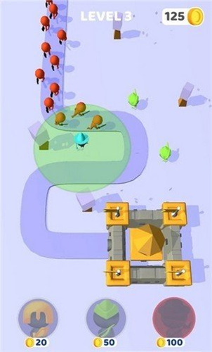 可爱城堡捍卫者截图3