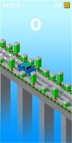障碍桥梁通过